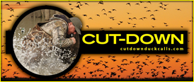 Cut Down Duck Calls Logo