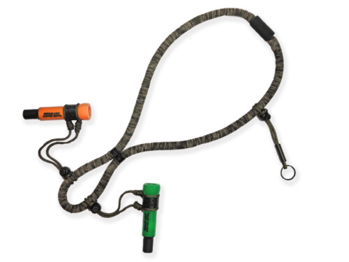 DOUBLE Duck Call CAMO Floating Lanyard