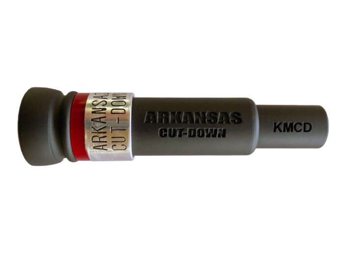 ARKANSAS CUT-DOWN Duck Call KM CUSTOM CUT RED-LABEL Special Editions Duck Call