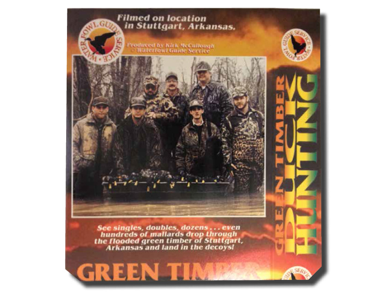 Kirk McCullough's GREEN TIMBER DUCK HUNTING 1 DVD