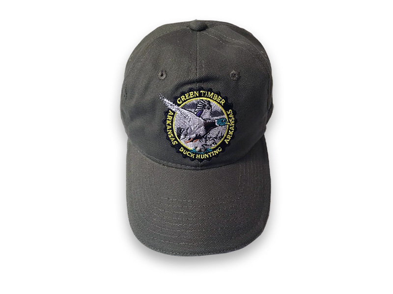 Green Timber Duck Hunting Canvas Cap