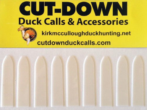 #14 Mylar Reed Packs – Fits All CUT-DOWN Style Calls 10 pack