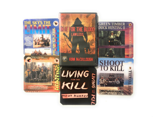 Kirk McCullough's 6 DVD Combo Pack including In It for the Blood: Lawless, THE SKY'S the LIMIT, SHOOT to KILL, LIVING for the KILL, GREEN TIMBER DUCK HUNTING 2, and our best seller GREEN TIMBER DUCK HUNTING 1